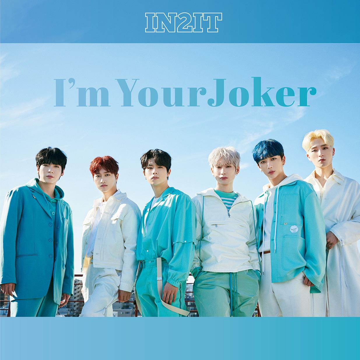 IN2IT JAPAN DEBUT SINGLE「I'm Your Joker」通常盤